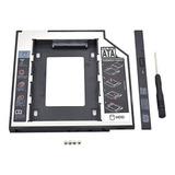 Caddy Slim 9.5mm Sata 3.0, 2.5 Hdd Ssd Cady Dvd Laptop