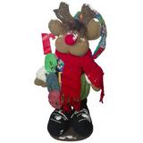 Muñeco Country Reno 55 Cm Navidad Regalo Amor Hogar Amor