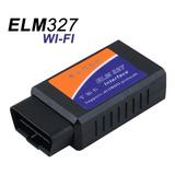 Elm327 Wifi Obd2 Escaner  iPad, iPhone, Android, Pc
