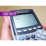 Calculadora Ti 84 Plus Silver Edition Texas Instruments Gráf