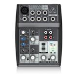 Mezcladora Mixer Behringer Xenyx 502 + Garantía