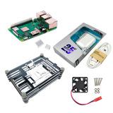Raspberry Pi 3 B+ (plus), Case, Ventilador, Disip. Y Fuente