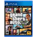 Grand Theft Auto V Premium Ps4 Gta