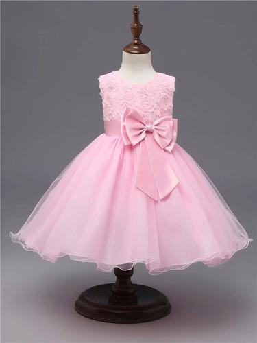 5d5e4f195 Vestido Fiesta Cumpleaños Matrimonio Bebes Niñas T 1