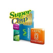 Super Chip Movistar Rpm **todos Califican**