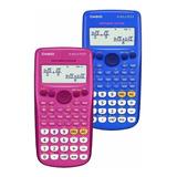 Calculadora Científica Rosado/azul Casio Fx-82la Plus Isc