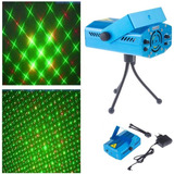 Mini Laser Puntos Figuras Ritmico Luces Led Eventos