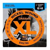 Cuerdas D´addario Exl110 Made In Usa Electrica Dadario