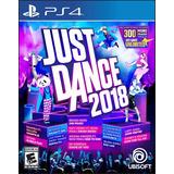 Just Dance 2018 Ps4 Unlimited Disponible