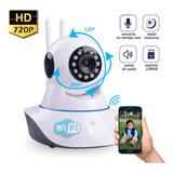 Cámara Robótica Hd Wifi Ip Visión Nocturna 128gb P2p Oferta