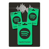 Tarjeta Spotify 3 Meses