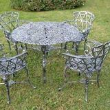 Muebles Ornamentales En Aluminio Y Fierro Fundido