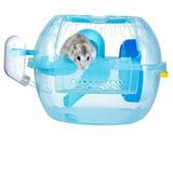 Jaula Para Hamster Rusos Alimento X 1kg Arena De Baño 1kg