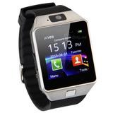 Reloj Celular Smartwatch Dz09 -c/camara-chip-micro Sd C/caja