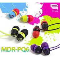 Audifono 2012 Sony Pq6 Mp3 Mp4 Ipod Extra Bass No Skullcandy