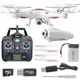 Drone Syma Original X5c-1+ Camara Hd + 4gb + Accesorios