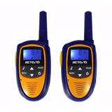2 Unidades Radios Comunicacion Walkie Talkie 22 Canales Mini