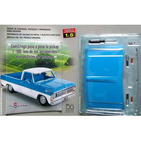 Coleccionable Pickup Ford F-100 - Pieza No. 1 - Escala 1:8