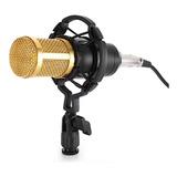 Micrófono Condensador Bm-800, Pc Laptop Estudio