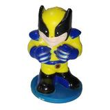 Llavero Wolverine 5cm Tm Marvel Xmen Regalo Navidad Coleccio