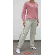 Exclusivos Pijamas Para Damas Algodón De Exportación
