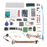 Kit Inicio/starter Arduino Uno R3 Rfid Learning Suite In Igv