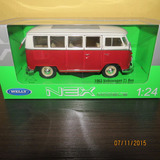 Perudiecast Welly Vw Volkswagen T1 Bus 1963 Kombi  Esc. 1:24