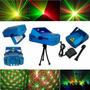 Mini Proyector Laser Ritmica Fiestas Luces Sicodelicas