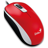 Mouse Genius Dx-110 1000 Dpi 1.5m Muevo Sellado - Rojo