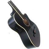 Guitarra Electroacústica Importada Ecualizador De 4 Bandas
