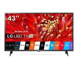 Lg Tv 43 Smart 2019 Bluetooth Fullhd Lm6300 Thinq Ai Sellado