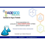 Agua Destilada Desionizada Galon 4 Lts
