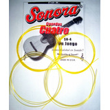 Cuerdas  Para Cuatro Venezolano Nuevas Sonora -sn4 Amarillas