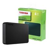 Toshiba - Disco Duro Externo Toshiba 4tb Canvio Basics Usb 3