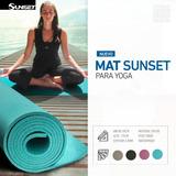 Mat O Colchoneta Para Yoga Pilates Entrenamiento Ejercicios