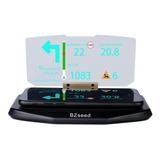 Monitor Frontal Hud Navegación Por Gps En Auto Con Reflejo