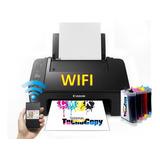 Impresora Multifuncional Wifi E3110 Con Sistema Continuo