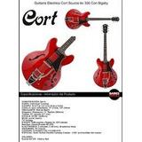 Guitarra Electrica Cort Source-bv Hollow Body Dod Casino