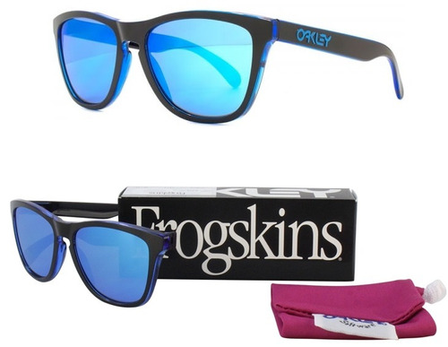 012691b63e Lentes Oakley Frogskins Eclipse Oo9013-a9 - 100% Nuevo S ..