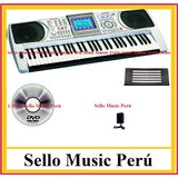 Teclado Electronico Organo Electronico Piano Usb-mp3 Nuevos