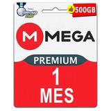 Cuentas Premium Mega 30 Dias 1 Mes Oficial 500gb Mensual