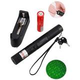 Puntero Laser Verde Potente Recargable + 2 Bateria D Regalo