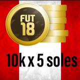Monedas Fifa 18 Ultimate Team 10k A 4 Soles Solo Ps4