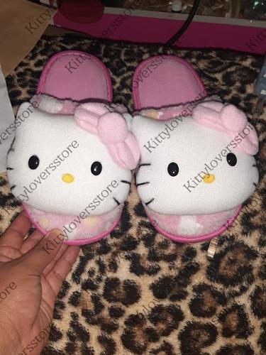 Pantunflas Hello Kitty