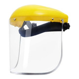 Protector Careta Facial Visor Policarbonato Borde Aluminio