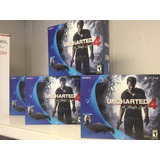 Ps4 Oferta!!! Play Station 4 Slim 500 Gb Juego Uncharted 4