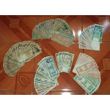 Billetes De Coleccion Intis Y Soles De 10 50 100 500 5mil