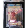 Iron Man Series 1 Marvel Legends Poster Dorado