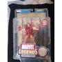 Iron Man Series 1 Marvel Legends Poster Dorado