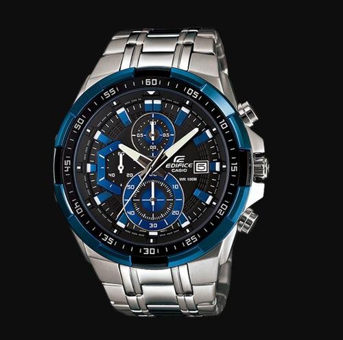 626ab6de4a03 Reloj Casio Edifice Efr-539d-2av -100% Nuevo Y Original 2018